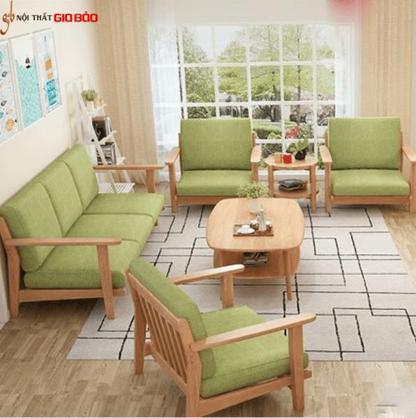 Ghế sofa phòng khách gia đình phong cách thanh lịch GB-8286