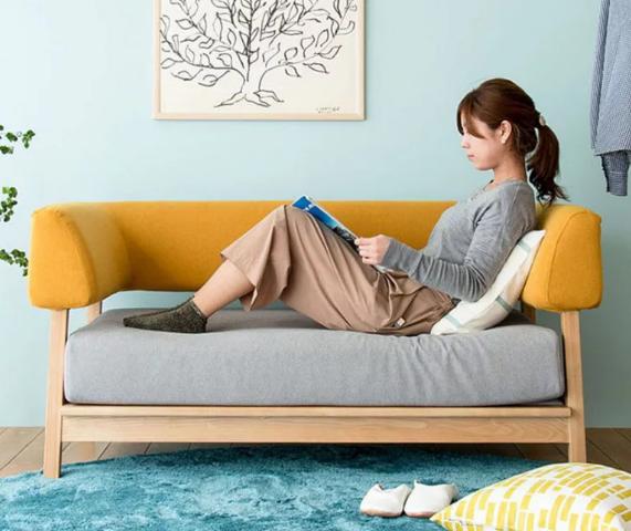 Ghế sofa bọc nỉ kiểu dáng hiện đại GB-8281