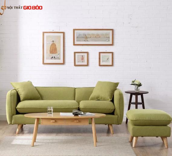 Ghế sofa bọc nỉ chất lượng cao GB-8280