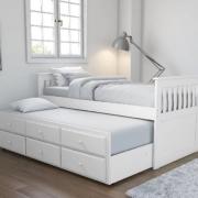 Giường ngủ gỗ nhỏ thiết kế thông minh GB-948