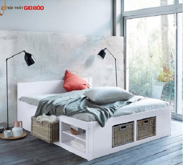 Giường ngủ gia đình thiết kế tiện dụng GB-940