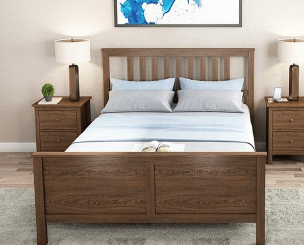 Giường ngủ gia đình chất lượng cao bằng gỗ sồi GB-9052