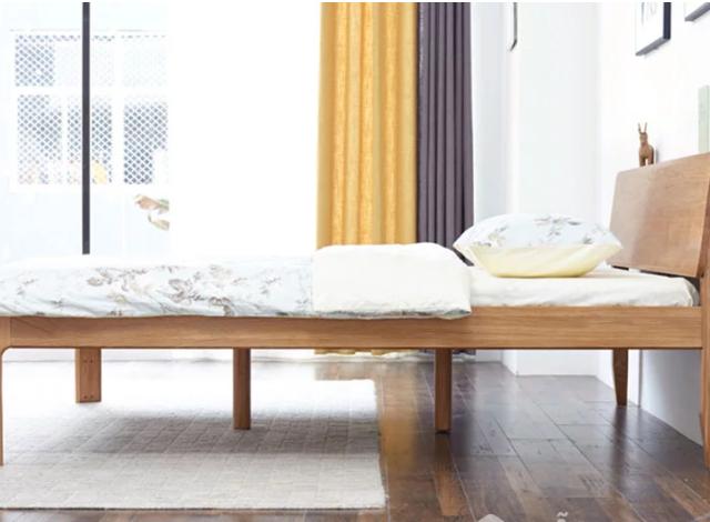 Giường ngủ gỗ sồi tự nhiên thanh lịch GB-9051