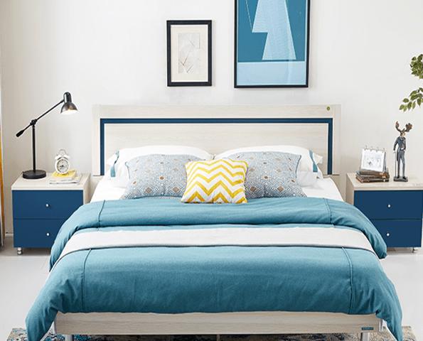 Giường ngủ gia đình đẹp kiểu dáng hiện đại GB-9050