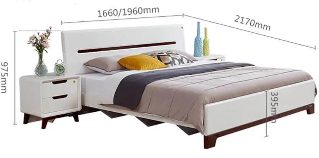 Giường ngủ gia đình phong cách hiện đại GB-9047