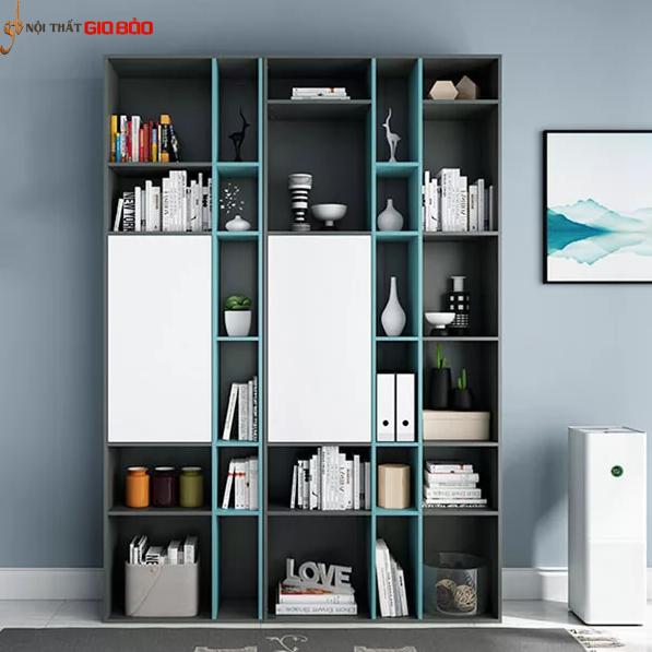 Giá sách gia đình thiết kế đẹp hiện đại GB-2149