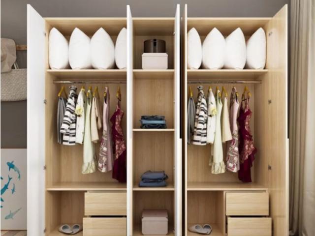 Tủ quần áo gia đình kiểu dáng thanh lịch GB-5523