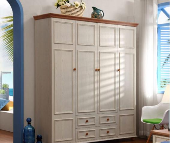 Tủ đựng quần áo phong cách thanh lịch cho gia đình GB-5568