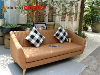 Bộ Sofa góc DOLLY màu nâu quý phái GB-8010
