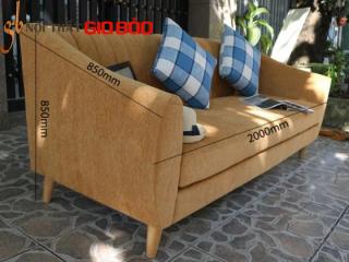 Bộ Sofa góc DOLLY màu vàng đất hiện đại GB-8008