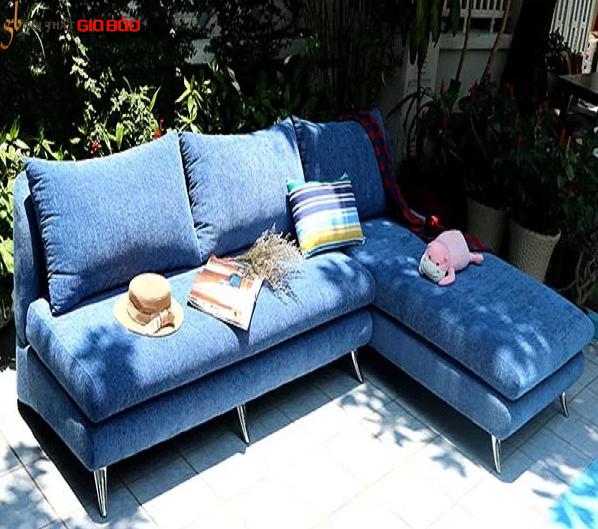 Bộ Sofa góc Alan Xanh sang trọng GB-8002