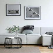 Ghế sofa phong cách hiện đại, thanh lịch GB-8273