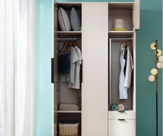 Tủ quần áo hiện đại thiết kế tiện dụng GB-5572