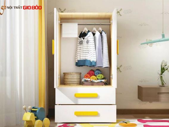 Tủ để quần áo cho bé kiểu dáng đẹp GB-5479