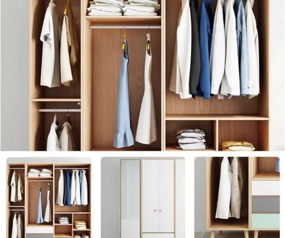 Tủ quần áo đẹp kiểu dáng hiện đại GB-5474