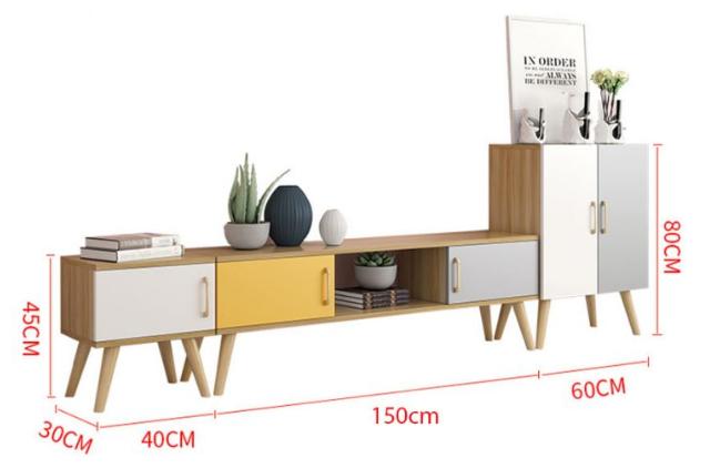 Kệ tivi đơn giản hiện đại bằng gỗ GB-3294