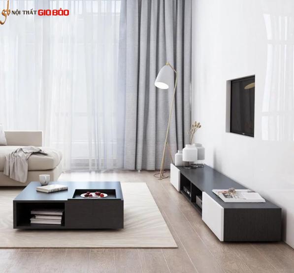 Kệ tivi gia đình gỗ công nghiệp thiết kế đẹp hiện đại GB-3304