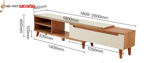 Kệ để tivi gia đình gỗ công nghiệp GB-3300