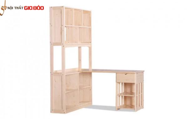 Bàn học thiết kế hiện đại bằng gỗ tự nhiên GB-4844