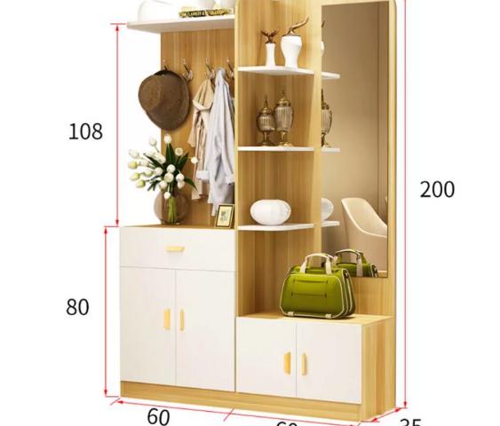 Tủ đựng giày dép thiết kế đa dụng cho gia đình GB-5534