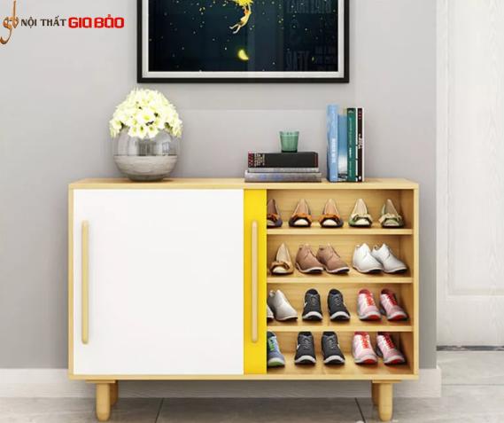 Tủ giày hiện đại kiểu dáng nhỏ gọn GB-5533