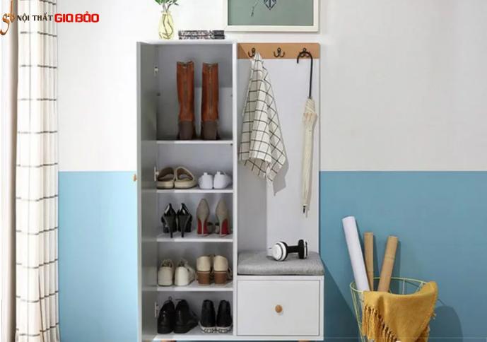 Tủ để giày dép kiểu dáng nhỏ gọn tiện dụng GB-5494