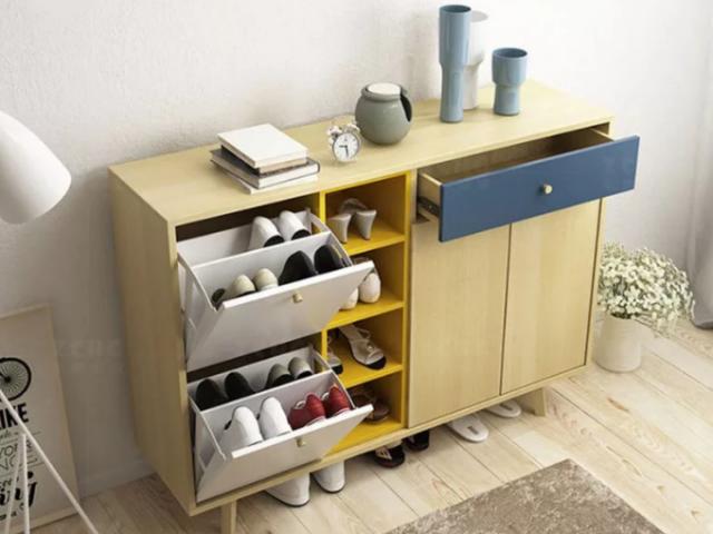 Tủ giày dép gỗ công nghiệp kiểu dáng hiện đại GB-5497
